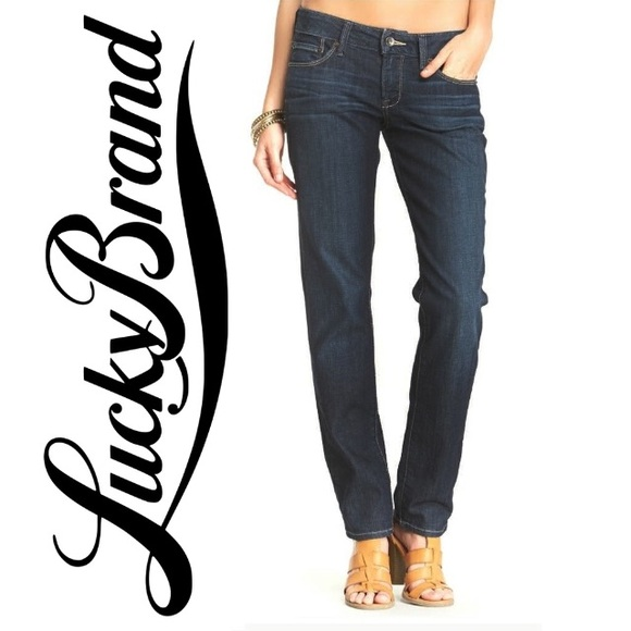 Lucky Brand Denim - Lucky brand Lola straight denim jeans